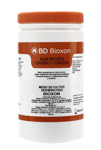 214700 BD Bioxon® Agar Infusión Cerebro Corazón, 450 g