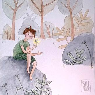 Interpretation von Peter Pan einem Kinderbuchklassiker