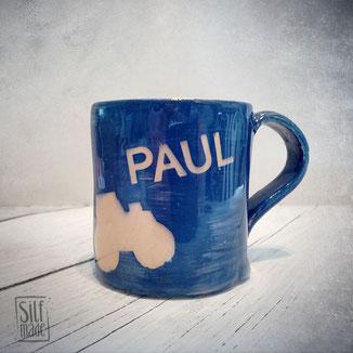 Personalisierte Keramik Kindertasse