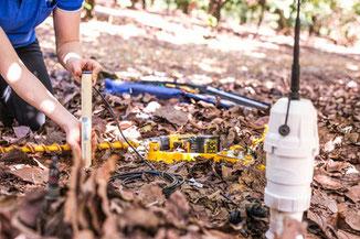 sonde capacitive drill and drop dsitribuée par Agralis votre expert en gestion de l'irrigation