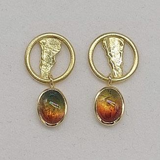 Ring aus Gold mit Sternsaphir