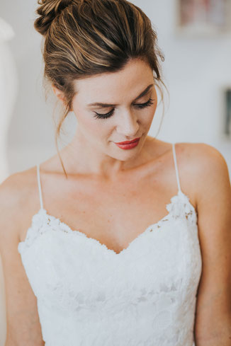 Frisur Hochzeit Brautfrisur Boho
