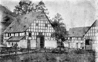 Baust Hof (gnt. Gockel) um 1900