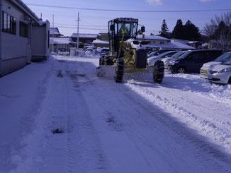 民間除雪作業2