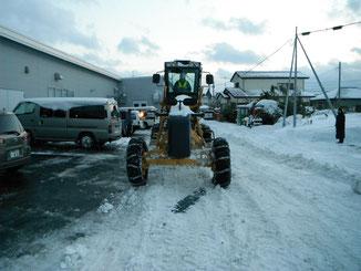 民間除雪作業1