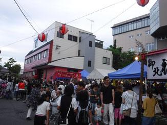 御北稲荷祭礼記事2(写真2)