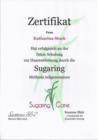 Sugaring, Intimenthaarung, Haarentfernung, Brazilian Waxing