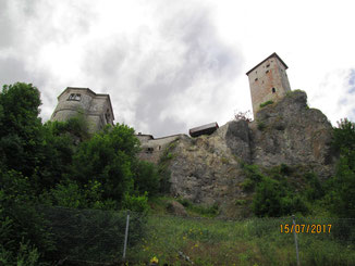 07/17: WT Neuhaus a. d. Pegnitz, Burg Veldenstein
