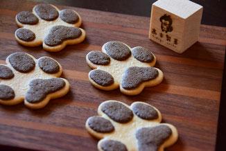 かわいいお菓子,可愛いお菓子,焼き菓子,クッキー,肉球,足あと,焼き菓子ギフト,贈り物,素敵な,