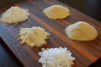 奄美のきび糖「素焚糖」やメープルシュガーをお菓子によって使い分け