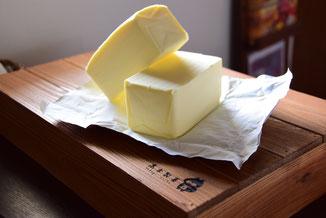 北海道産の生乳100%の国産バター
