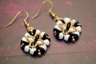 Ohrringe Tikki by Kinari Handmade Jewellery