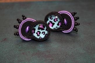 Soutache Schmuck Ohrringe Amara by Kinari Handmade Jewellery Statementschmuck Designer