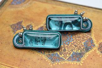 Soutache-Ohrringe Taraxa Kinari Handmade Jewellery