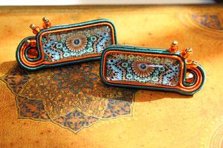 Soutache Ohrringe Mujer Kinari Handmade Jewellery