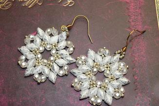 Perlen-Ohrringe Estrella by Kinari Handmade Jewellery
