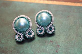 Soutache-Ohrringe Sora by Kinari Handmade Jewellery