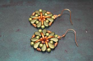 Perlen-Ohrringe Gamora by Kinari Handmade Jewellery