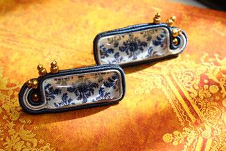 Soutache Ohrringe Florence Kinari Handmade Jewellery