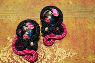 Handmade by Kinari; Soutache-Ohrringe Kalea