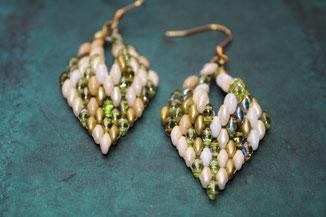 russisches Blatt Lime by Kinari Handmade Jewellery
