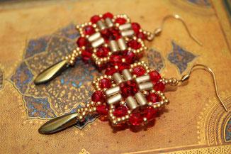 Ohrringe Carmen by Kinari Handmade Jewellery
