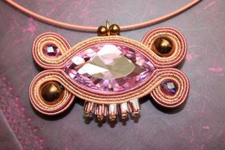 Soutache Schmuck Ohrringe Justinia by Kinari Handmade Jewellery Statementschmuck Designer