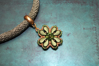 Perlen-Halskette Lucky by Kinari Handmade Jewellery