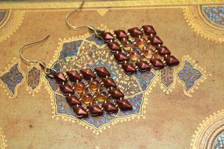 Ohrringe Diamond by Kinari Handmade Jewellery