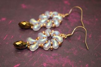 Perlen-Ohrringe Zo Daisy by Kinari Handmadey Jewellery