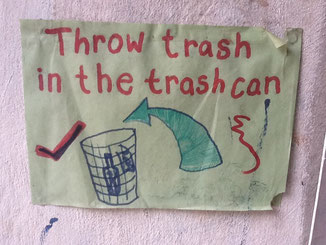waste collection poster
