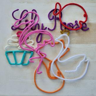 tricotin cadeaux décoration personnalisé