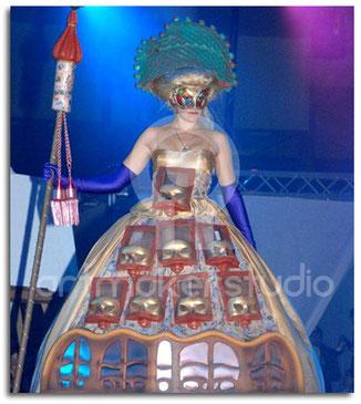 Producciones artísticas, atrezzo, escenografía, escultura, Madrid, vestuario