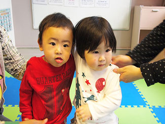 Babies learning French