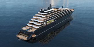 Ritz-Carlton Yacht Luxus Kreuzfahrt Reedereien
