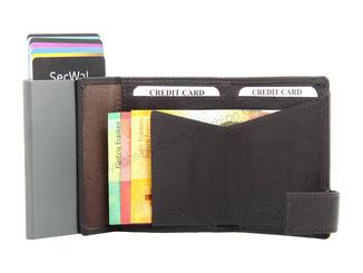 SecWal Portemonnaie Braun