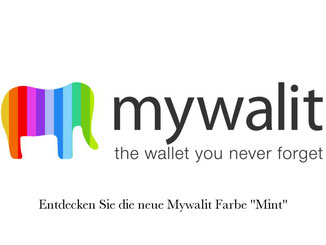 Mywalit Portemonnaie Mint