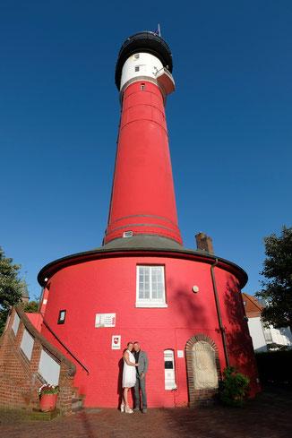 Leuchtturm Hochzeit Wangerooge