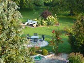 Bild Gartenlandschaft