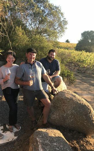 Besuch beim Weingut Kaapzicht Estate, Stellenbosch Südafrika April 2018