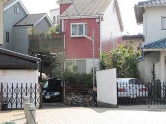 茅ヶ崎市の鉄砲道の住宅