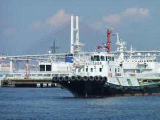 横浜市・横浜港のタグボートKAGA MARU(加賀丸)