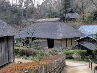 川崎市・生田緑地の日本民家園