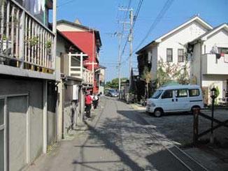 神奈川県藤沢市・江ノ島の裏通り