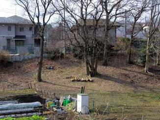 横浜市・境川遊水地公園付近の家々