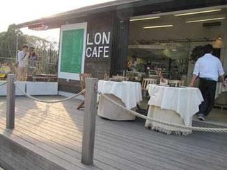 藤沢市・江ノ島サムエル・コッキング苑のロンカフェ