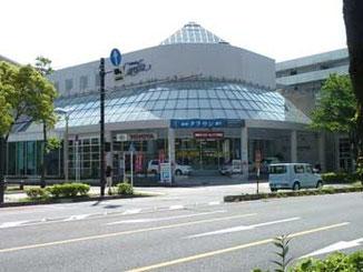 横浜市・本牧宮原のトヨタ自動車販売店
