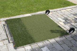 Brilliant8; Brilliant; Southwest Greens; Southwestgreens; synthetic; turf; Grass; artificial; Private Greens; Golf Green; Luxury; Golf; Private Green; Nicklaus Design; erba artificiale; campo da golf; costruzione; mobile tee mat,matte