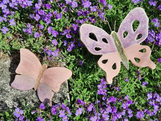 Schmetterlinge Gartenstecker