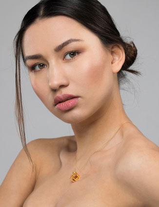 Würfel Halskette